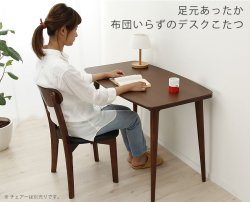 Photo1: kotatsu desk with heater needless beddings and cover let