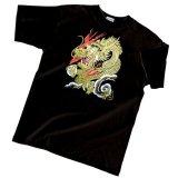Japanese T-Shirts (C-005) HIRYU Dragon Free Shipping