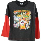 Youkai watch  monster with medal long sleeve TSchrts  Chacol Freeshipping