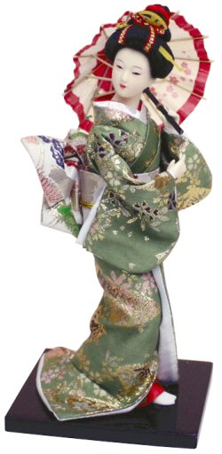 Photo1: japanese kimono doll NO8 Free shipping